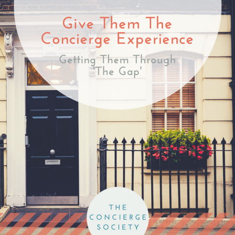Give Them The Concierge Experience