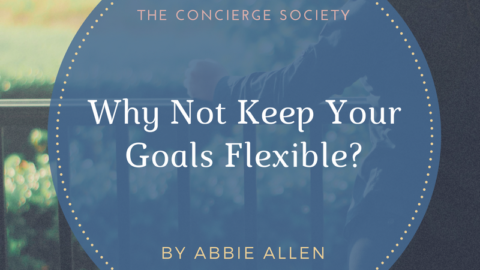 Why Not Keep Your Goals Flexible?