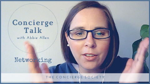 Concierge Talk – Networking Tips