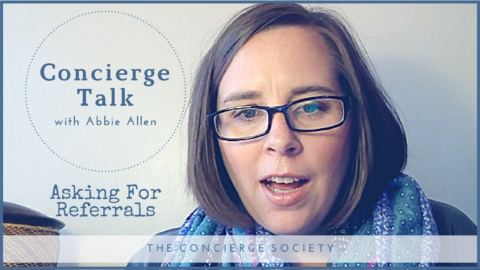 Concierge Talk – Asking For Referrals